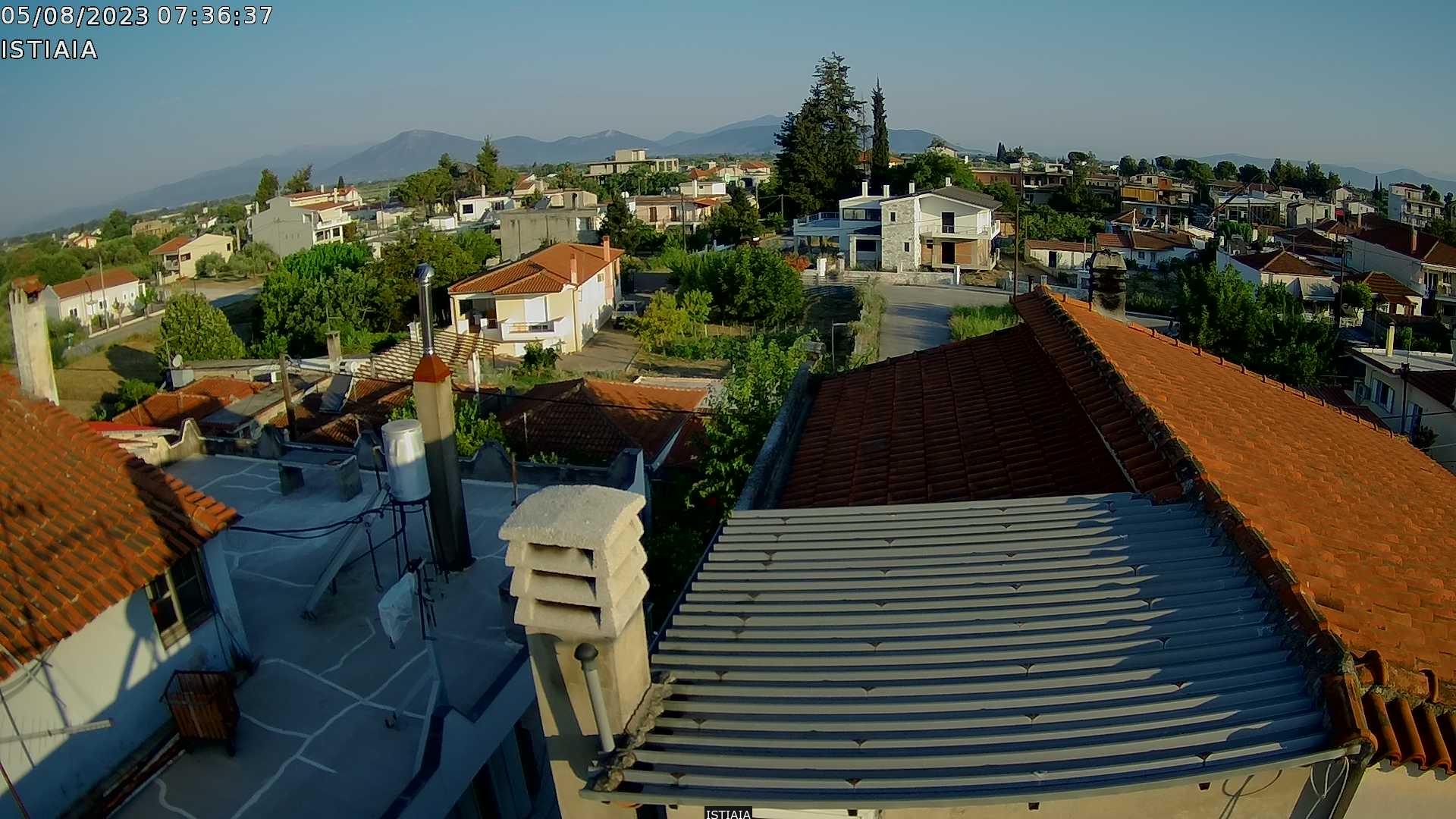 Уеб камера от остров Евбея - И=стиаия, Гърция