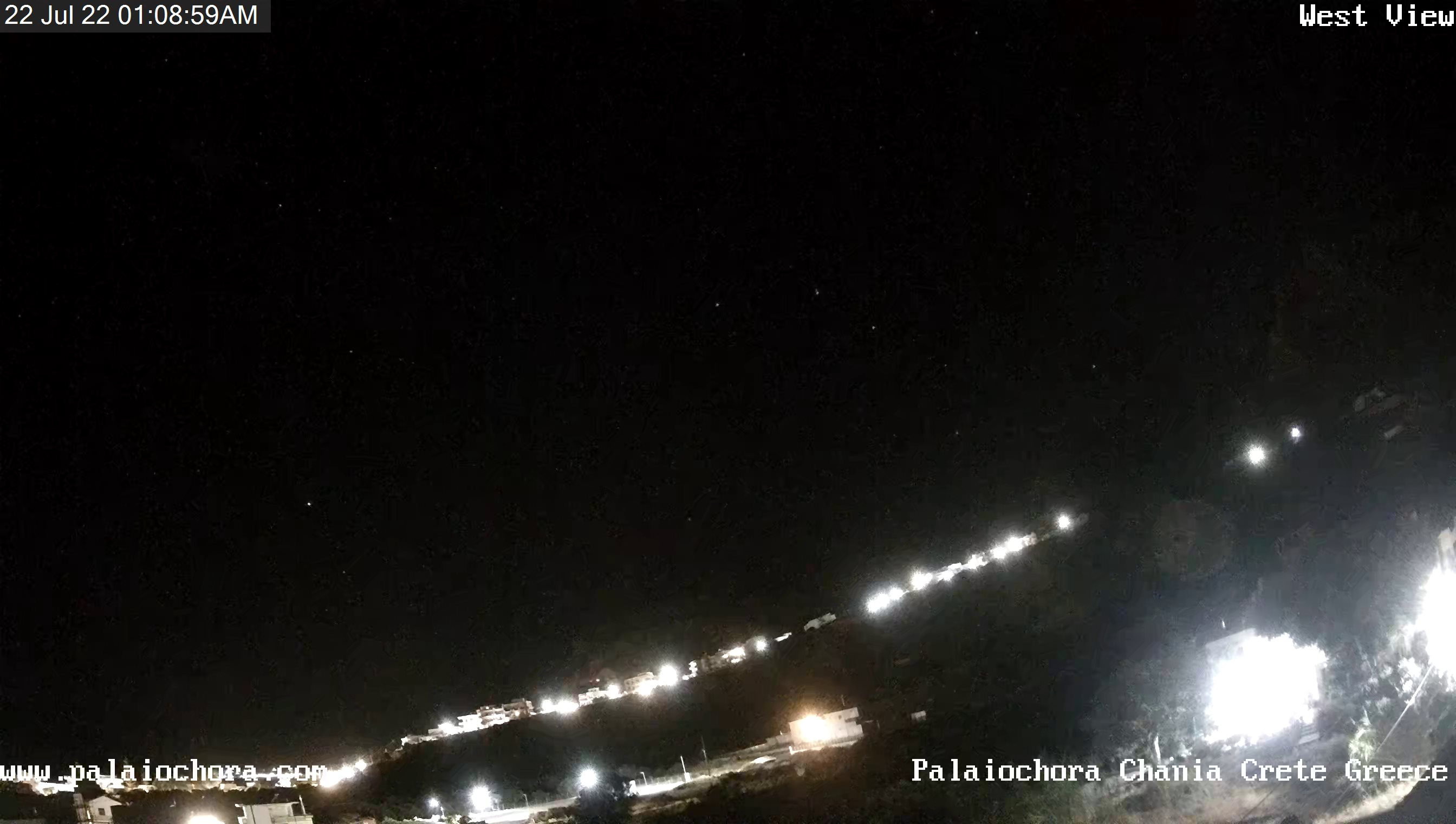 Уеб камера от остров Крит - Paleochora, Гърция